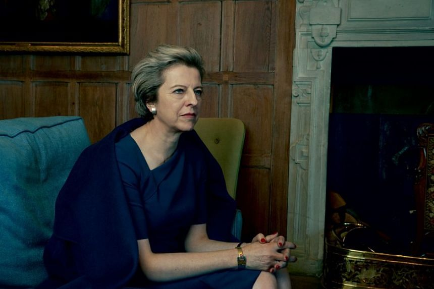 Theresa May became the first British Prime Minister to be featured in the pages of Vogue.