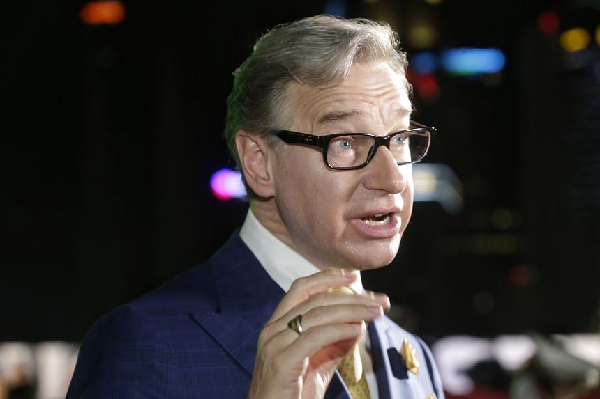 Director Paul Feig at the Ghostbusters red carpet event on June 12, 2016, at the Marina Bay Sands.