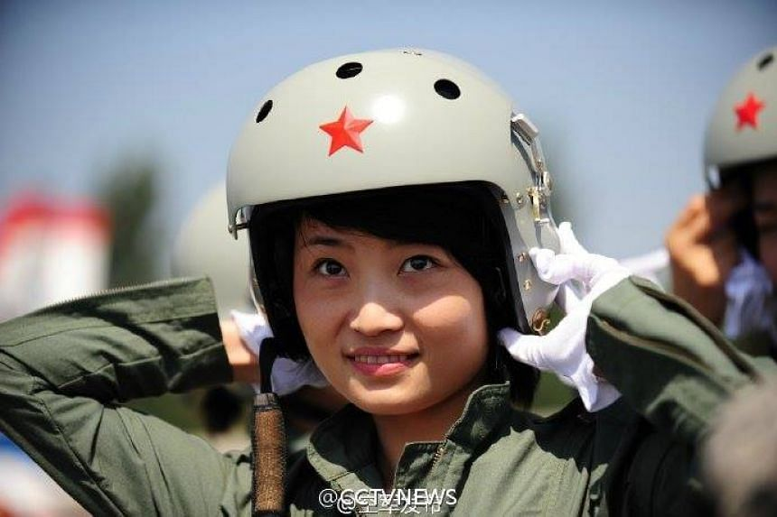 Ms Yu was a member of the August 1st aerobatics team.