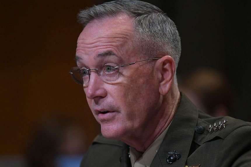 Chairman of the US Joint Chiefs of Staff General Joe Dunford has suggested that Nato should take over some aspects of training troops in Iraq once the threat of ISIS is dealt with.