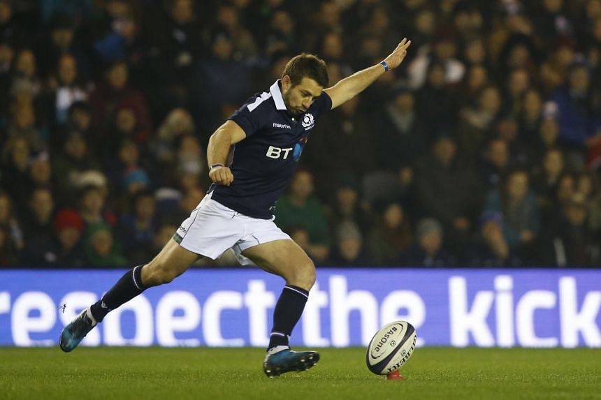 The Scottish Rugby Union has announced that Greig Laidlaw will miss the rest of the Six Nations matches after damaging ankle ligaments.