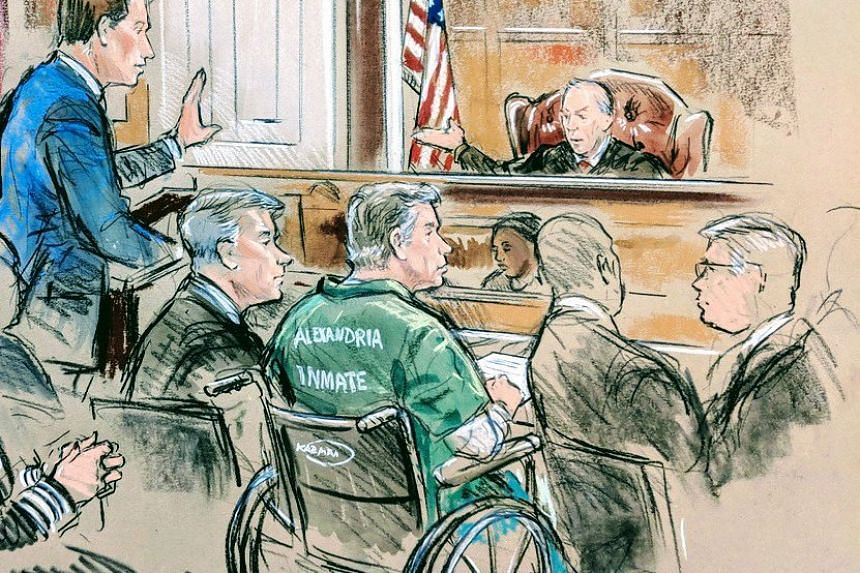 Manafort appears for sentencing in this court sketch