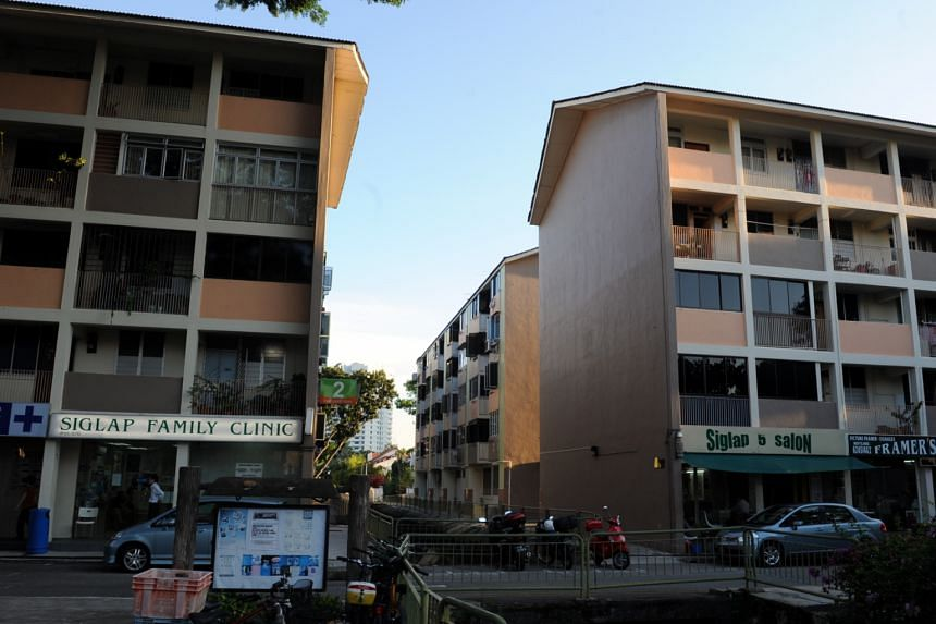 Blocks 1, 2 and 3 in East Coast Road. These blocks are about 48 years old, and there are 82 households in total. In the Selective En bloc Redevelopment Scheme (Sers), residents are compensated for their existing homes and given discounts on brand new