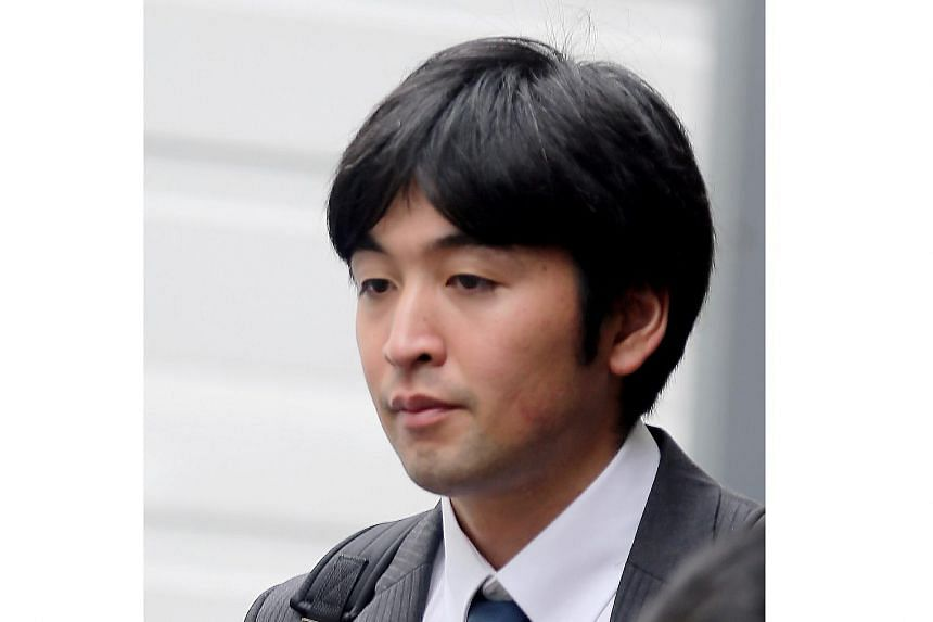 Masano Takeshi, 27, was fined $6000 for slapping three police officers at an MRT station.