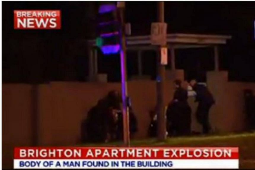 Police have safely rescued a woman who was being held against her will in the apartment block.