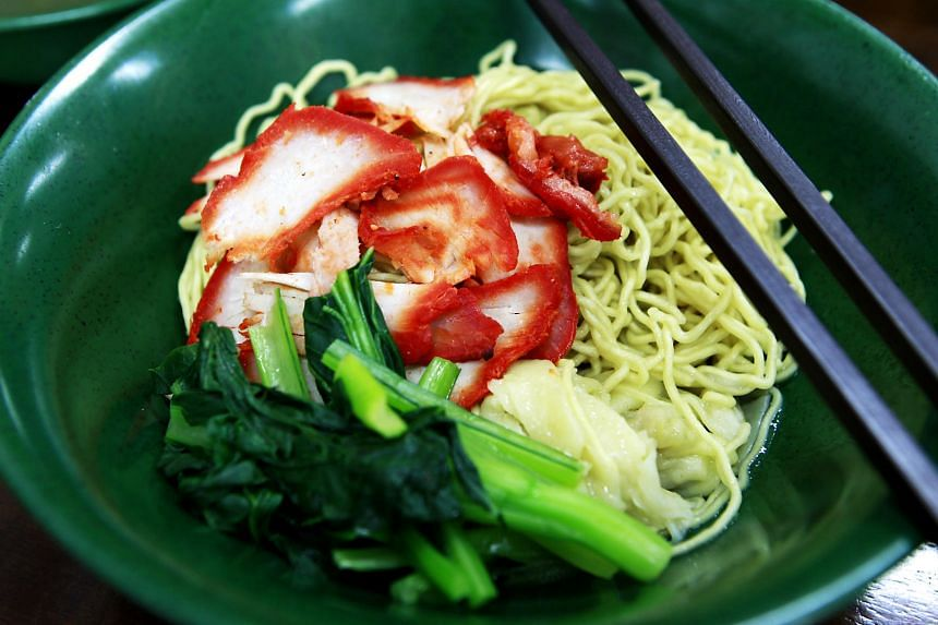 Wonton noodles from Eng's Noodle House in Tanjong Katong Road.