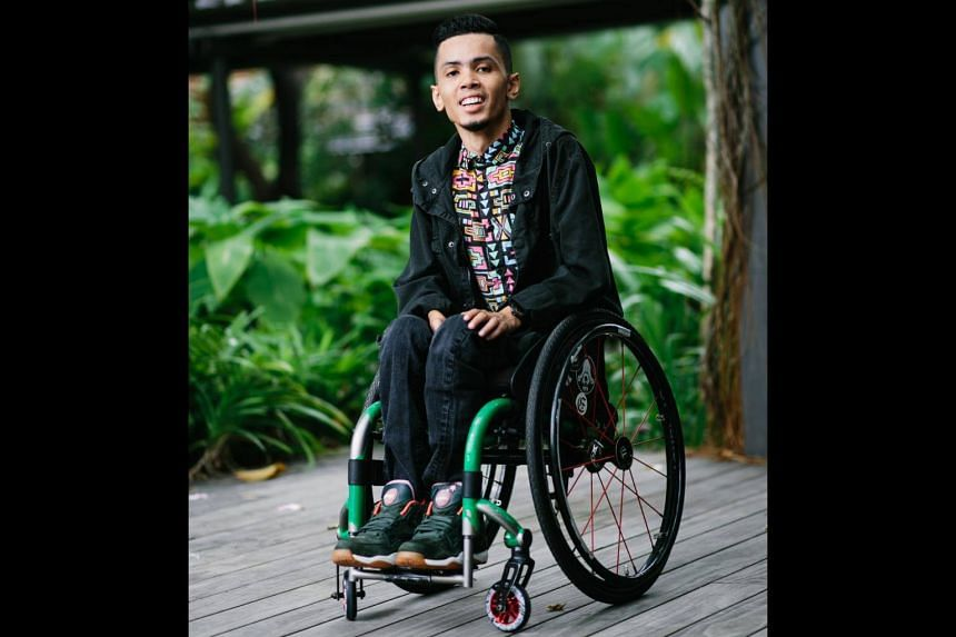 Danial Bawthan, 23, was diagnosed with muscular dystrophy at the age of four. He is now a cappella beatbox performer and hip hop music producer.