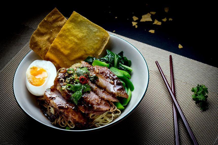 Baan wonton noodles from Baan by Rochor Thai.