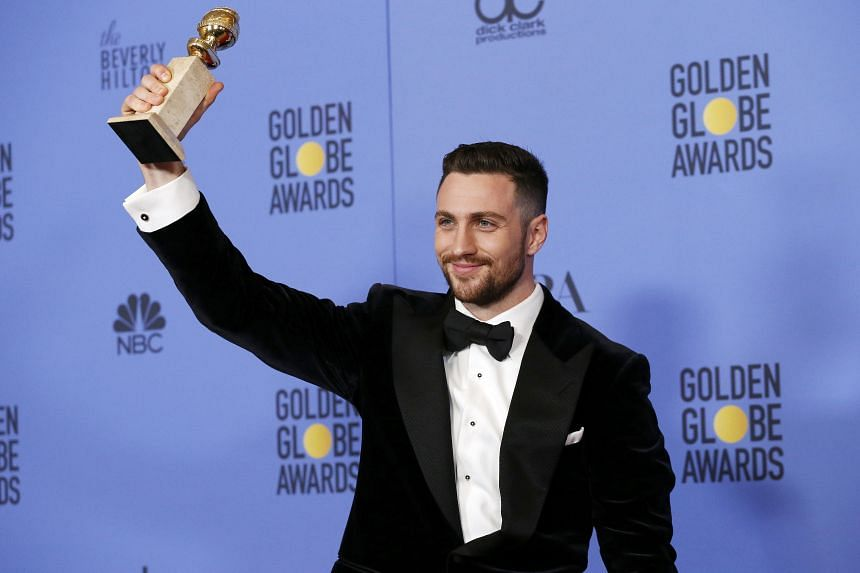 Aaron Taylor-Johnson wins the Best Film Supporting Actor award for his role in Nocturnal Animals.