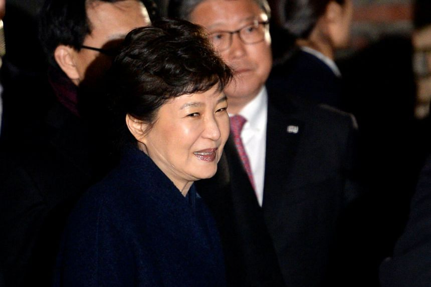 When she was president, Park Geun Hye had said she would cooperate with prosecutors wanting to question her but she later declined.