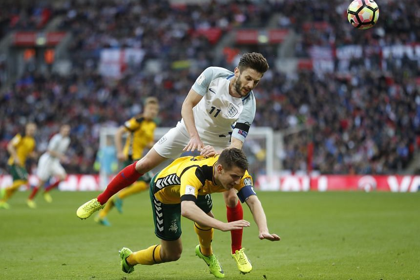 Adam Lallana suffered the injury during England's 2-0 World Cup qualifying win at home to Lithuania.