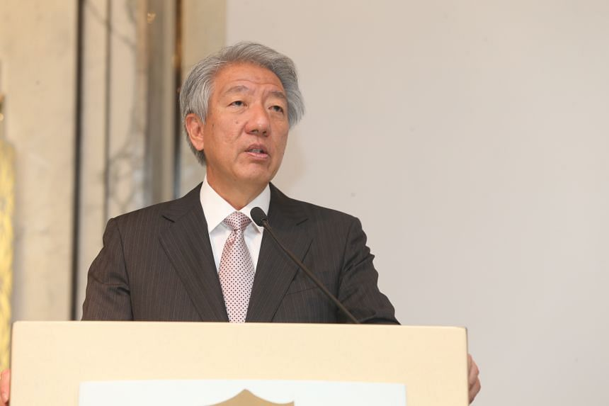 Deputy Prime Minister Teo Chee Hean speaks at the 20th Anniversary Celebrations of the East Asian Institute.