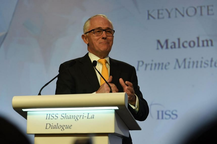 Australia Prime Minister Malcolm Turnbull called on Beijing to build trust in the region by using its considerable influence over North Korea, whose dozen missile tests this year have rattled the region.