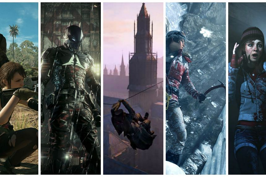 ST Digital Awards: Nominees for best action adventure game.