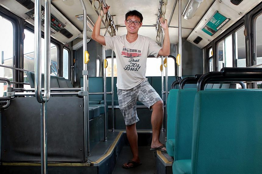 Bus enthusiast Benjamin Chua, 22, loves buses and can talk about them all day. Singapore celebrates its 48th birthday on Aug 9, and to tie in with this,The Straits Times Photo Desk has put together 48 Singaporean Seconds, an audio-visual tribute to S