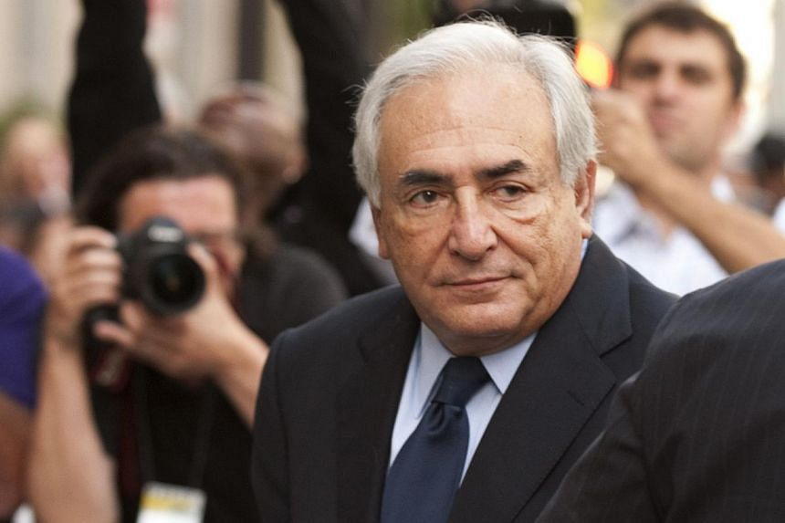 """Mr Dominique Strauss-Kahn arrives at Supreme Court in Manhattan on June 6, 2011 in New York. Mr Strauss-Kahn said he doesn't have """"any kind of problems with women,"""" in an interview that aired on Wednesday on CNN, two years after the sex scandal that"""