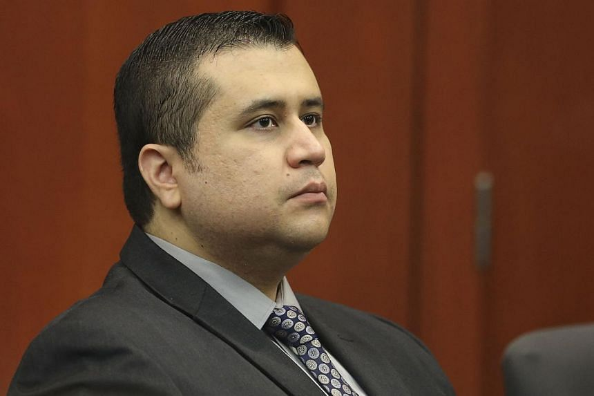 George Zimmerman sits in the courtroom for his second-degree murder trial in Seminole circuit court in Sanford, Florida, on July 10, 2013. In a once-segregated Southern town where a shooting death last year ignited a dispute that polarised America, t