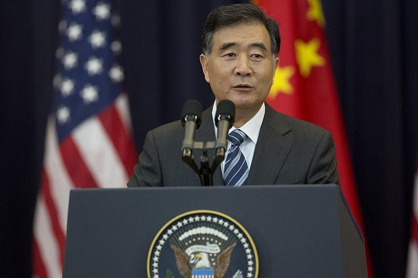 Wang Yang, China's vice premier, speaks during the opening session of the US-China Strategic and Economic Dialogue (S&ED) conference at the State Department in Washington, D.C., US, on Wednesday, July 10, 2013. The relationship between the United