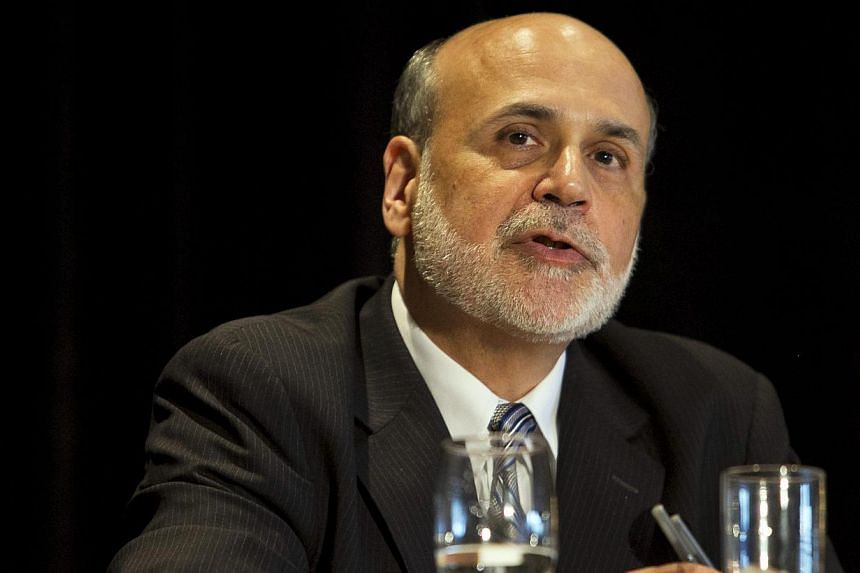 Federal Reserve chairman Ben Bernanke speaks at a meeting of the National Bureau of Economic Research in Cambridge, Massachusetts, on July 10, 2013. Eyeing the end of his term as Fed chief, Mr Bernanke said on Wednesday that he hopes his commitment t