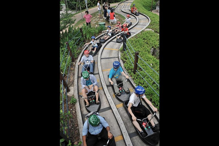 Skyline Luge Sentosa will erect four new buildings and two more tracks under a $5 million revamp that will be completed by 2015.  The Butterfly Park & Insect Kingdom will be changed completely.
