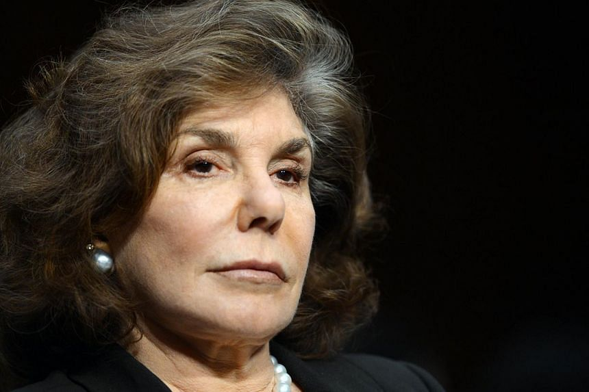 Photo dated Jan 24, 2013 shows Teresa Heinz Kerry, wife of US Secretary of State John Kerry, during Kerry's confirmation hearing on Capitol Hill in Washington. Mrs Heinz Kerry, the wife of Secretary of State John Kerry who suffered a seizure on Sunda