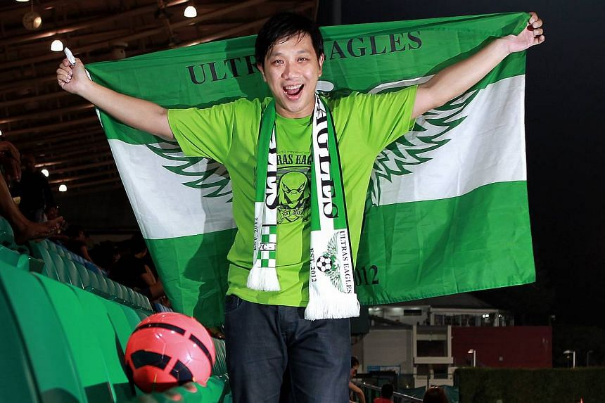 Die-hard S-League fan and Geylang International supporter Stanley Wong, 38, believes that locals should support local soccer, for National Day 48 Singaporean Seconds project. Singapore celebrates its 48th birthday on Aug 9, and to tie in with this,Th