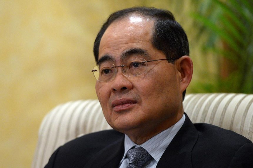 Minister for Trade and Industry Lim Hng Kiang (above) will be on a four-day visit to Colombia and Costa Rica starting from July 16 to promote greater economic engagement and ties between Singapore and the two Latin American countries. -- ST FILE PHOT