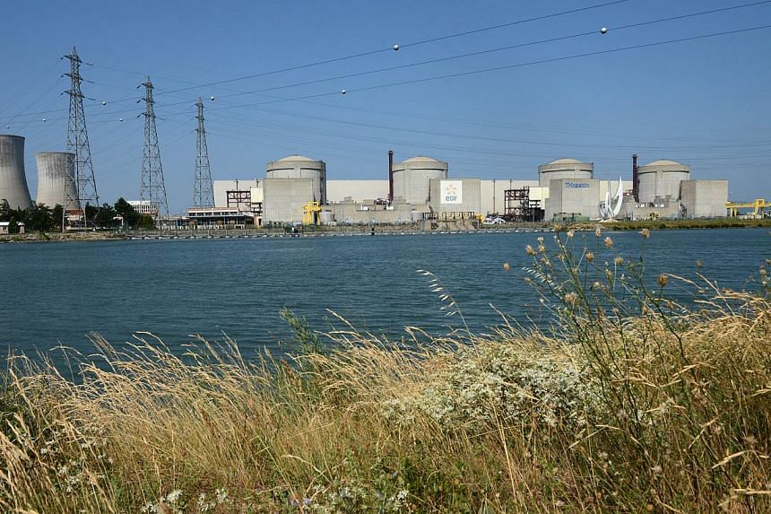 The Tricastin Areva's nuclear power plant in the French south-eastern town of Pierrelatte, some 200km north of Marseille, southern France on Monday, July 15, 2013. The police on Monday arrested 29 Greenpeace activists who snuck into a nuclear plant i