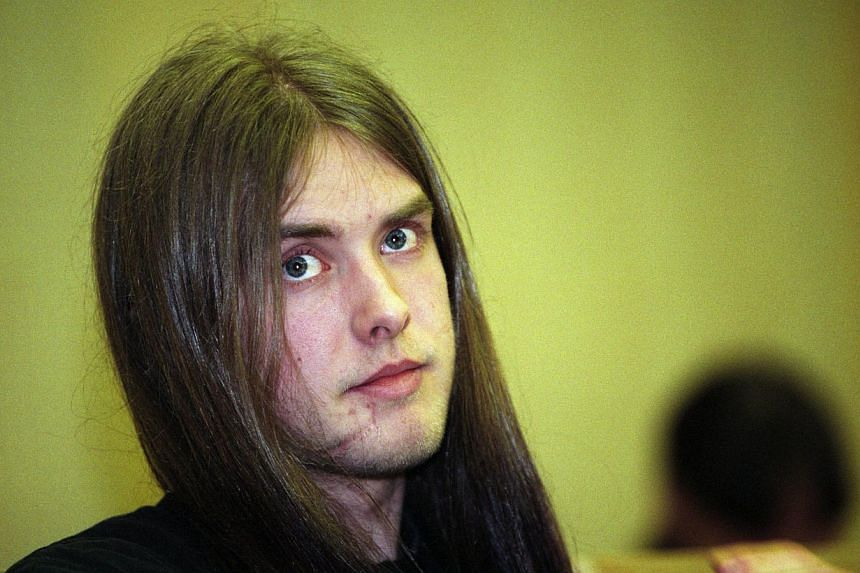 """Norwegian neo-Nazi black metal rocker Kristian Vikernes, seen in this April 25, 1994, file photo,was arrested in France on Tuesday, July 16, 2013, over fears he may have been preparing a """"major terrorist act"""", the interior ministry said.-"""
