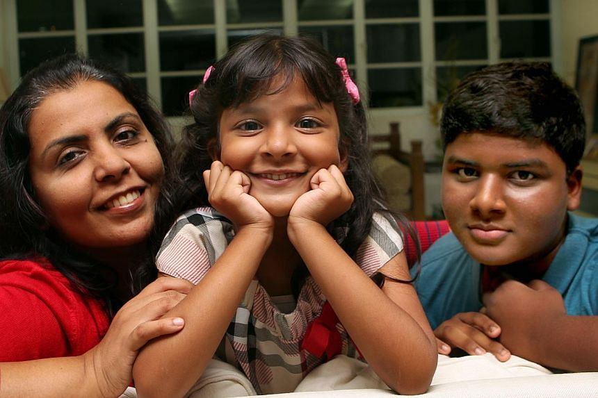 Just nine places are left in Henry Park Primary School (left) after Phase 2A(2) of Primary 1 registration closed yesterday. Ms Tanya Prasad, whose 13-year-old son Divyaansh Sinha had studied in Henry Park, managed to enrol her six-year-old daughter,