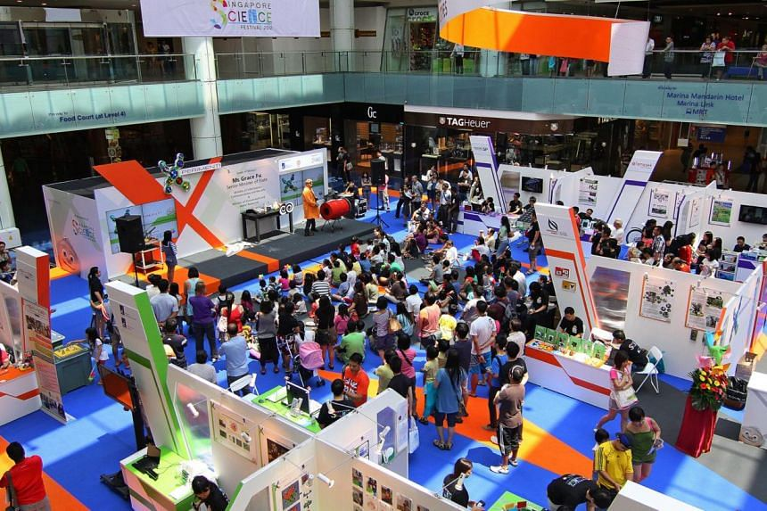 lvscience - At X-Periment, a science fair where universities, companies, and research institutions share and demonstrate their latest innovations. The biggest Singapore Science Festival, with more than 50 organisations taking part, will open on Frida
