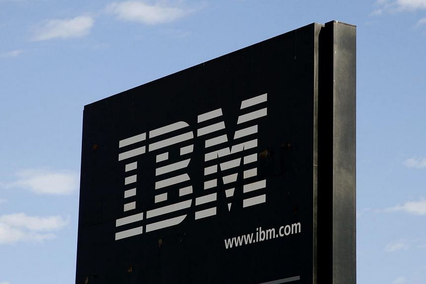 A sign at the IBM facility near Boulder, Colorado, is photographed on September 8, 2009. IBM, the world's largest technology services company, raised its full-year outlook as it cut costs and reported second-quarter earnings that beat estimates. -- F