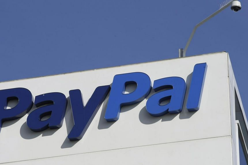 The eBay/PayPal offices in San Jose, California, is shown in this photo taken on Jan 19, 2011. PayPal, which is eBay Inc, accidentally credits a man US$92 quadrillion. -- FILE PHOTO: AP