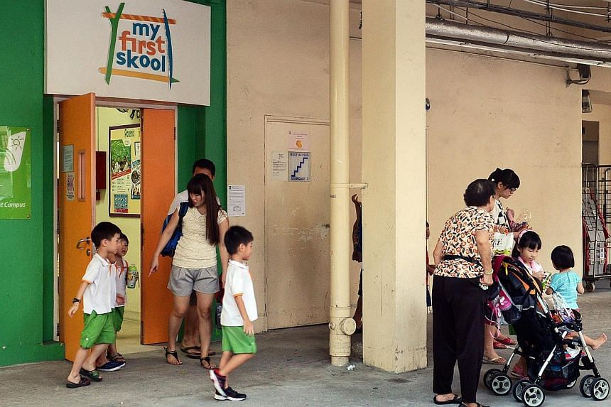 A NTUC My First Skool childcare centre in Toa Payoh. NTUC My First Skool will improve its communications with parents, enhance its process of reviewing incidents of injury or mishandling, remind staff of the importance of proper care for children, an