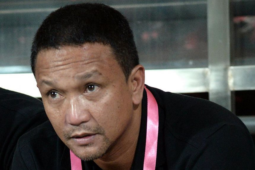 Fandi Ahmad at the Malaysian Super League match of LionsXII v Johor Darul Takzim on June 22, 2013. MSL side Johor Darul Takzim have demoted head coach Fandi to an assistant coaching role. -- ST FILE PHOTO: LIM SIN THAI