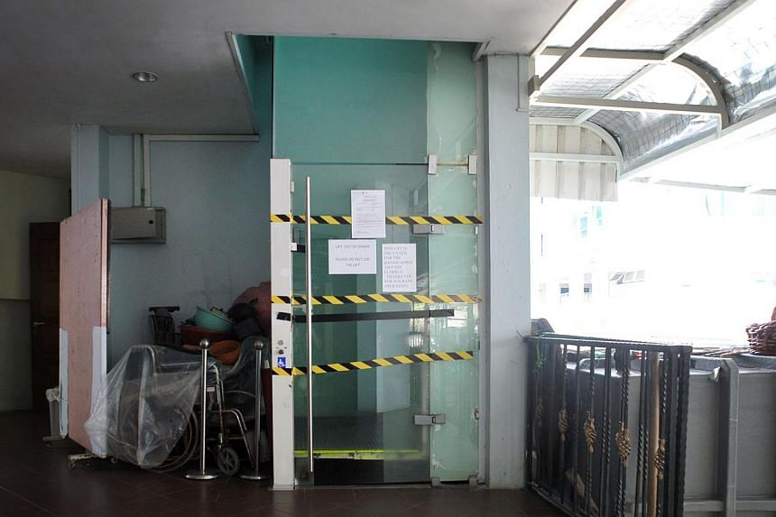 Ms Abanes was killed and Madam Tay was injured by this lift in the Catholic Church of St Michael in May last year.