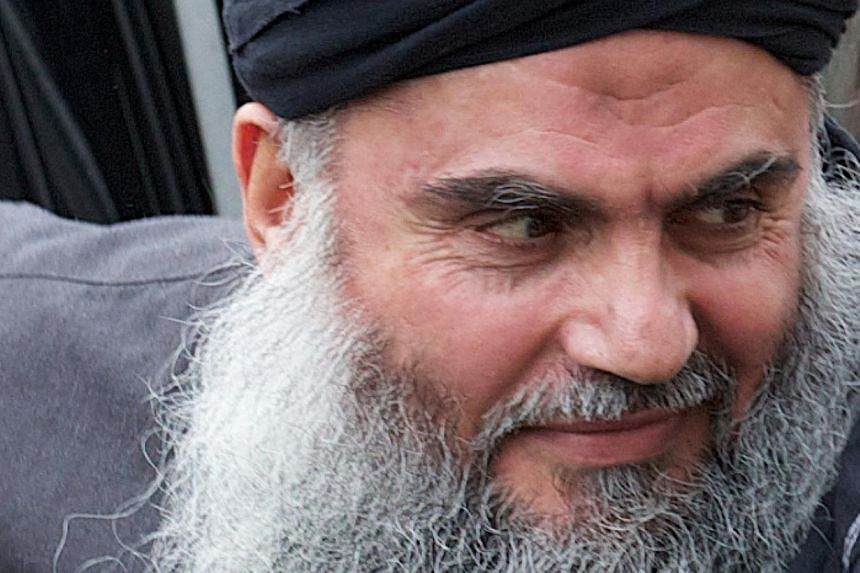 A military court on Sunday, July 21, 2013, rejected a bail application by Islamist cleric Abu Qatada (above), who faces terror charges in Jordan following his deportation from Britain, his lawyer said. -- FILE PHOTO: AFP