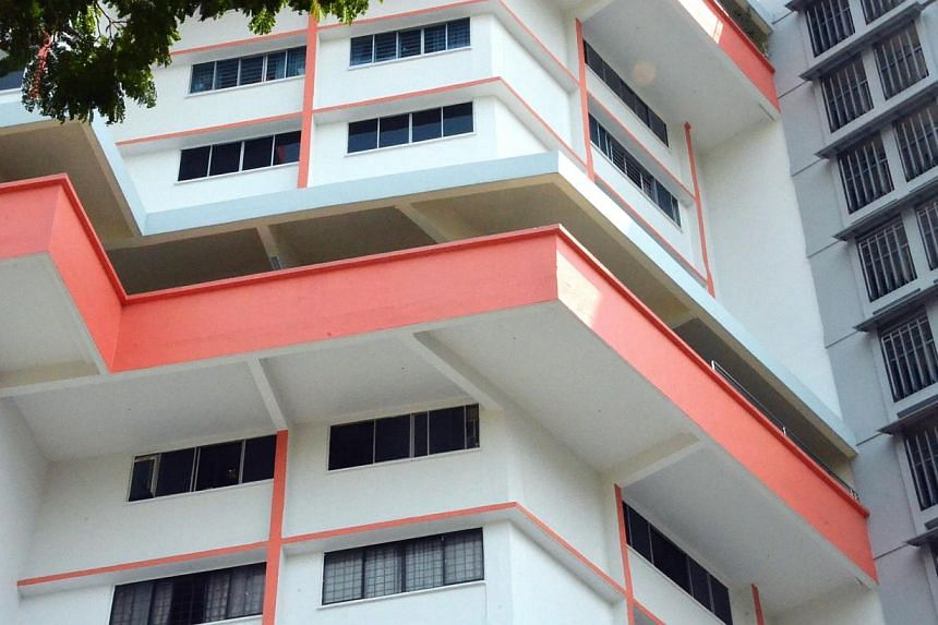 An eight-year-old boy was found dead at the foot of a HDB block in Tampines (above) just after midnight on Sunday, July 21, 2013. -- PHOTO: SHIN MIN