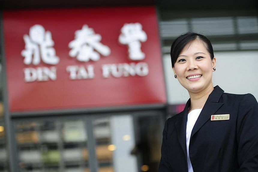 Ms Eunice Lim, director of operations of Ding Tai Fung Thailand, is pictured on Monday, July 22, 2013. When labour chief Lim Swee Say goes to Chinese restaurant Din Tai Fung, his eyes are peeled not so much on its dumplings and noodles, but on i