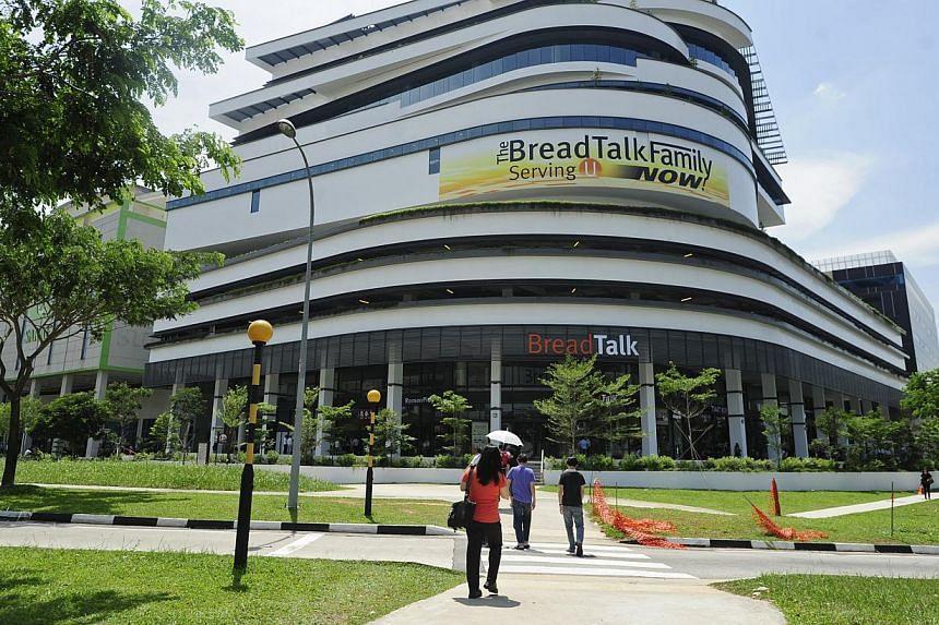 The exterior of BreadTalk Mall is pictured on Monday, July 22, 2013. When labour chief Lim Swee Say goes to Chinese restaurant Din Tai Fung, his eyes are peeled not so much on its dumplings and noodles, but on its toothpicks. -- ST PHOTO: MARK C
