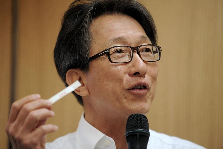 When labour chief Lim Swee Saygoes to Chinese restaurant Din Tai Fung, his eyes are peeled not so much on its dumplings and noodles, but on its toothpicks. -- ST PHOTO: MARK CHEONG