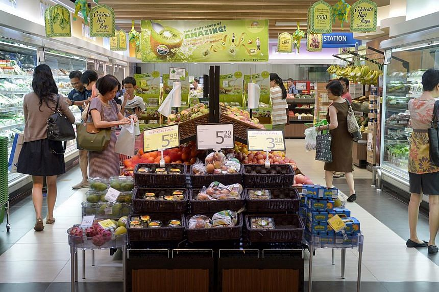 According to the Nielsen survey, 26 per cent of consumers here wanted to switch to cheaper grocery brands.