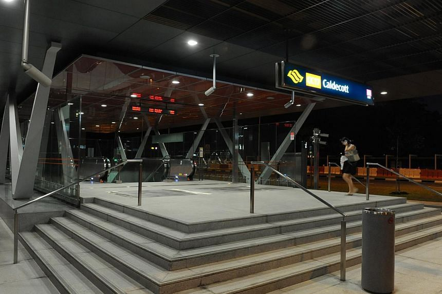 A $285 million contract to turn Caldecott MRT station into an interchange has been awarded to Samsung C&T Corporation. -- WANBAO FILE PHOTO: GOH KENG SOON