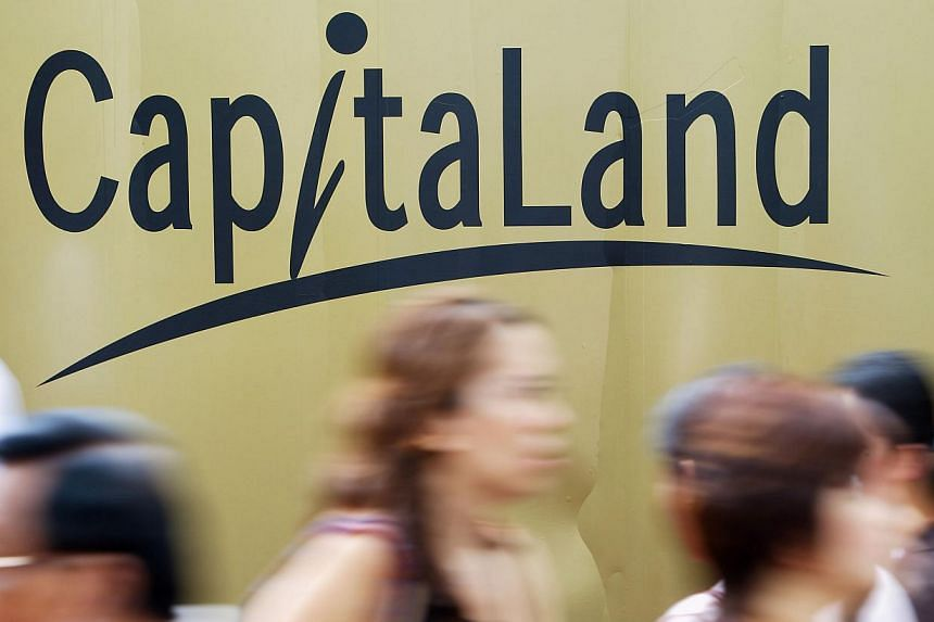 Property giant CapitaLand posted a marginal 0.7 per cent dip in second-quarter earnings from the preceding year to $383.1 million on Thursday. -- FILE PHOTO: BLOOMBERG