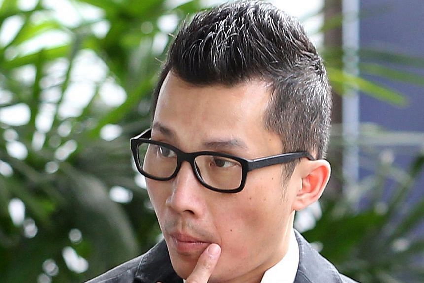 A former business school owner, who cheated three banks as part of a study loan scam, was on Thursday, July 25, 2013, jailed for 34 months. Benny Yap Chee Mun (above), 42, remained expressionless during his sentencing in a District Court. -- ST PHOTO