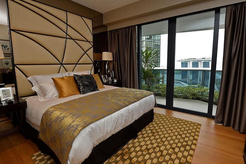 Almost all units at the luxury Marina Bay Suites condominium have been snapped up upon its completion last month. During an update of the 99-year leasehold project's progress, the development's manager Raffles Quay Asset Management (Rqam) announced t