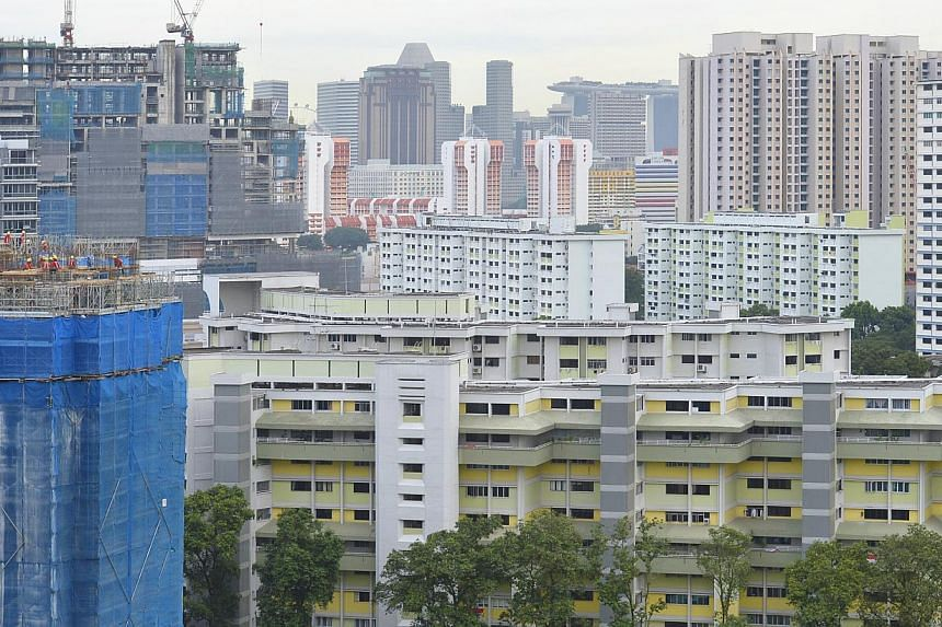 HDB flats along Owen Road.The Resale Price Index (RPI) for the second quarter of 2013 experienced the lowest quarterly growth since the first quarter of 2009, according to Housing Board (HDB) figures released on Friday. -- ST PHOTO: ASHLEIGH SI