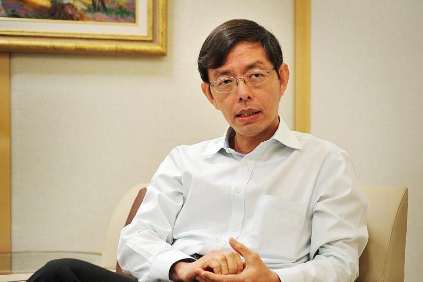 Civil service head Peter Ong. -- PHOTO: ALPHONSUS CHERN