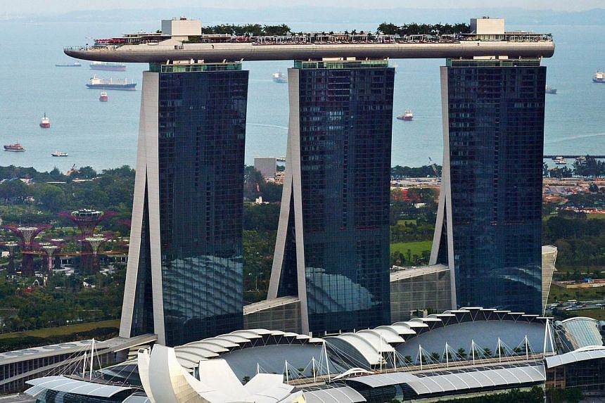 Integrated resort Marina Bay Sands (MBS) is holding a charity festival to raise funds for non-profit organisations. -- ST FILE PHOTO: ALPHONSUS CHERN