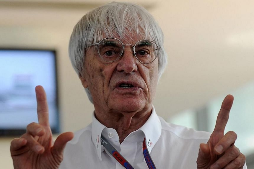 The Indian Grand Prix is likely to be dropped from next year's Formula One calendar as Russia prepares for its debut, commercial supremo Bernie Ecclestone (above) has told Reuters. -- FILE PHOTO: AFP